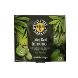 Black Bee Jalea Real Inmuno+ Reishi 20 Ampollas
