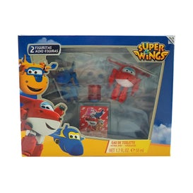 Super Wings Eau De Toilette 50ml + Regalo 2 Figuritas