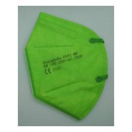 Changanda Mascherina FFP2 Verde Scuro