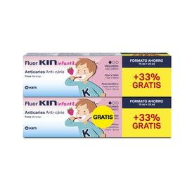 Kin Fluor Infantil Pasta 75 ml + 25ml 2x1