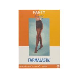Farmalastic panty complet compresión ligera 40 DEN T-pequeña capuchino 1ud