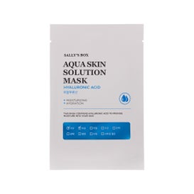 Sally's Box Aqua Skin Solution Mask Hyaluronic Acid 22ml
