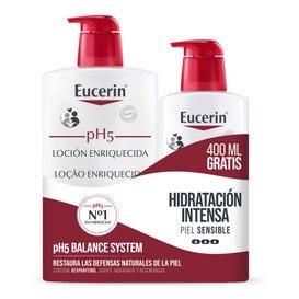 Eucerin Loción Enriquecida Pack de 1L + 400ml