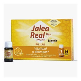 Juanola® jalea real plus 14 viales