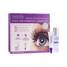 Belcils Pack tratamiento completo sérum anticaída pestañas 3ml + crema regeneradora intensiva pestañas 4ml