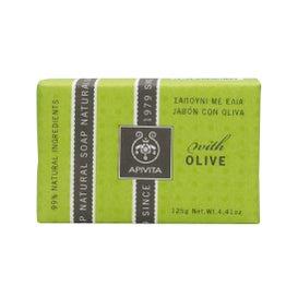 Sapone Apivita all'olio d'oliva 125g
