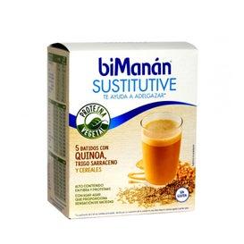 Bimanán Sustitutive 5 Batidos Con Quinoa, Trigo Sarraceno Y Cer