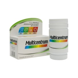 Multicentrum Vitaminas y Minerales 90comp