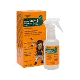 Neositrin Spray Gel tratamiento liendres y piojos 100ml