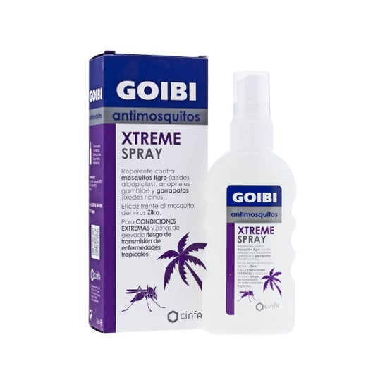 Goibi Xtreme mosquito spray 75ml