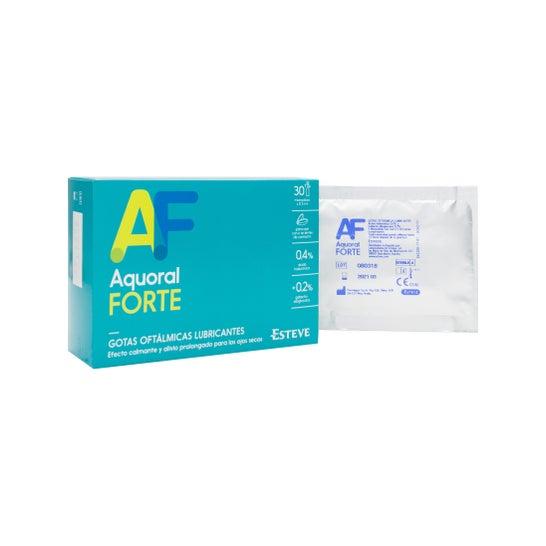 Aquoral Forte gotas oftálmicas ácido hialurónico 0,4% 30 monodosis