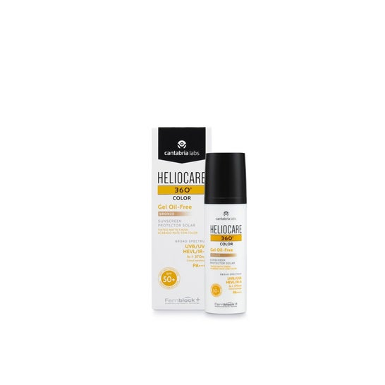 Heliocare 360° Color Oil Free Gel Spf 50+ Bronze 50ml