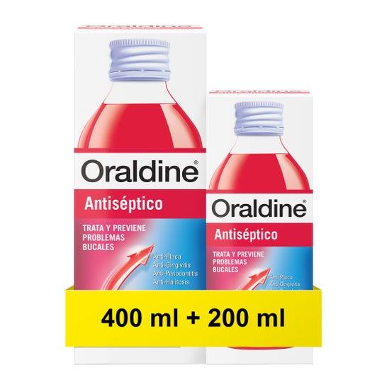 Oraldine Colutorio Antiséptico 400ml + 200ml