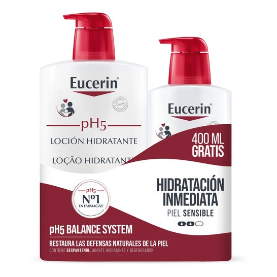 Eucerin pH5 Lotion Pack 1L + 400ml