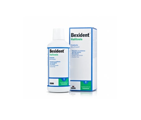 Bocal antiderrapante de halitose Bexident ™ 500ml
