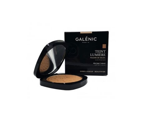 Galenic Teint Lumiere natural sun powder 9