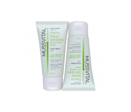 Mussvital Pack Dermactive Dry & Sensitive Hands Cream 2x200ml