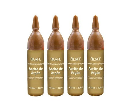 Skafe Aceite De Argan 10 Ml 4 Ampollas