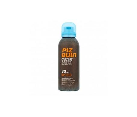 Piz Buin Protect&cool Mousse solaire rafraîchissante Spf30 150ml