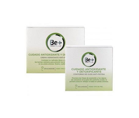 Be + Pack Care Antiox-desintoxicação Contour Eyes 15ml + Creme Hidratante Anti-Fadiga 50ml