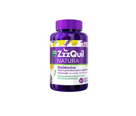 Vicks ZzzQuil Nature Melatonin 60 Tabletten