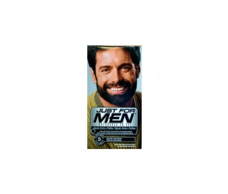 Just for Men black colouring gel for moustache and beard 30ml
