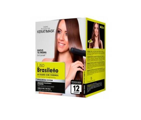 Essere naturale brasiliano Keratimask lisciatura Kit lisciatura Keratimask Formaldeide Free