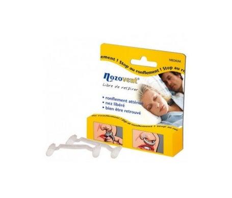Nozovent Nasal Pits Dilator Mdium box of 2 Nozovent Orthse Nasal Pits