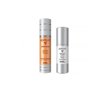 Aspolvit serum 50ml + Platinum cream 30ml