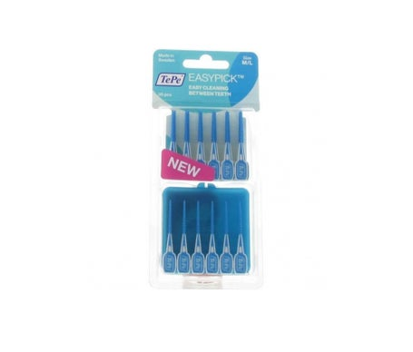 Tepe Easypick M/L Azul 36Pcs