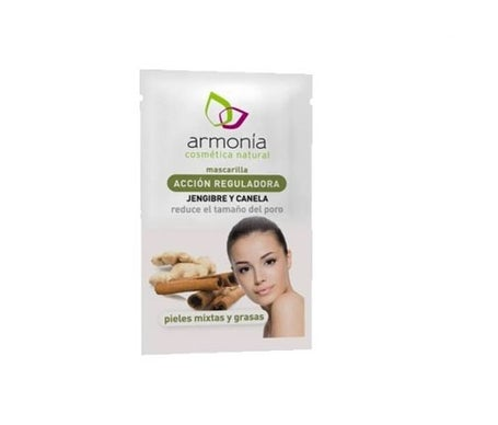 Harmony masque facial à action régulatrice gingembre et cannelle 10g