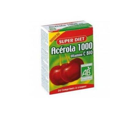 Super Dieta  Acerola 1000 Bio 24 tabletas