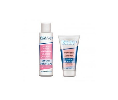 Rougj agua micelar 150ml + exfoliante delicado 50ml