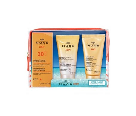 Sun Box Nuxe 30+ Shampoo & Latte Regalo