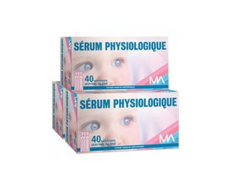Marque REFERENCE Sérum physiologique 40 unidoses de 5 ml ' Lot de 3