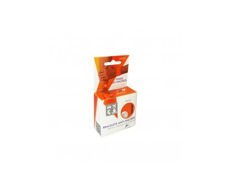 Pharmavoyage Anti-Nail Bracelet Orange Small 2 pices