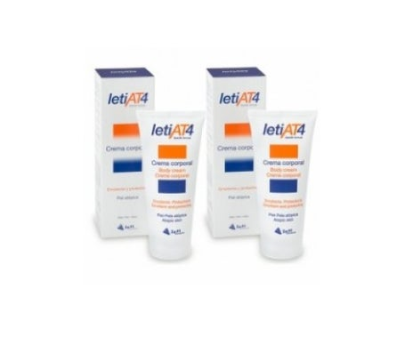 LetiAT4 cream emoliente 2x200ml