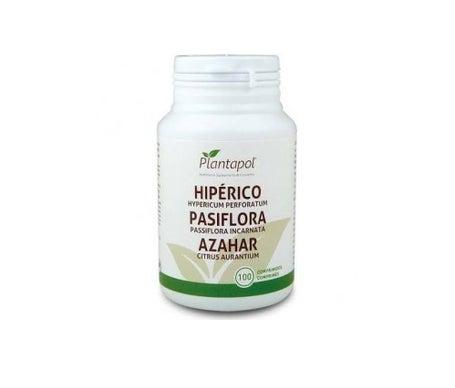 Plantapol Hyperico Pasiflora Azahar 100 comprimidos