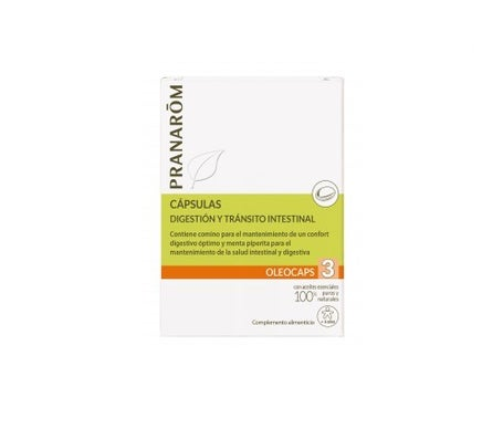 PranarÌm Oléocaps 3 digestion and intestinal transit 30caps