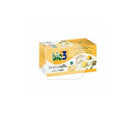 Camomila de infusão Bie3 com anis 25 filtros