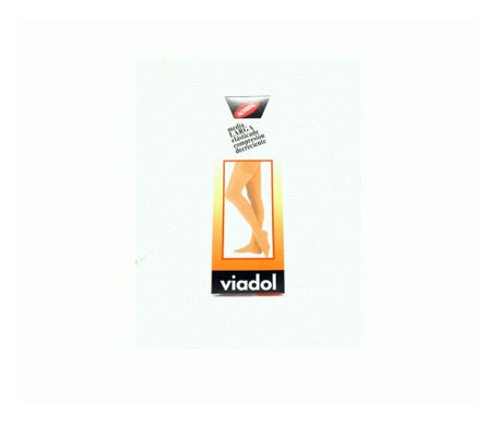 Viadol long compression stocking normal beige T 3