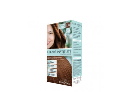 Cleare Institute Colour Clinuance Permanent Dye 534 Light Brown 170ml