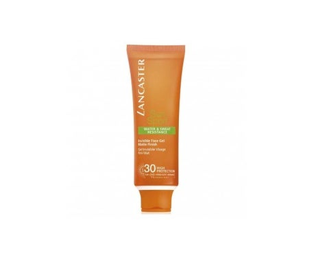 Lancaster Sun Sport Invisible Face Gel LSF 30 50ml
