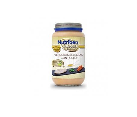 Nutribén Innova Potito Verduras Selectas Con Pollo 250g