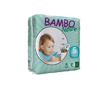 Bambo Nature diapers T-5 Junior 12-25kg 21uts