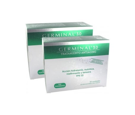 Germinal treatment 3.0 ampoules Bergua Pharmacy Pack