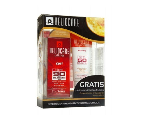 Heliocare Ultra Gel SPF90 50 ml + Heliocare Advanced Spray SPF50 75 ml