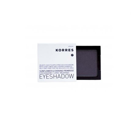 Korres eye shadow nº 55 metallic grey 1