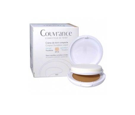 Avène Couvrance Creme kompakt ölfreie Farbe Porzellan 9,5g