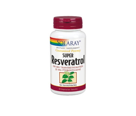 Solaray Super Resveratrol 250mg 30caps